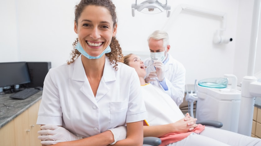 The valuable support of dental assistants